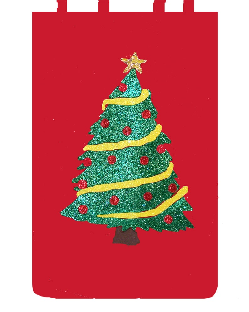 Christmas Tree Liter Liquor Bag