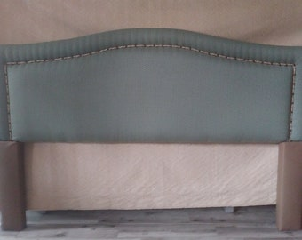 King Headboard Custom Upholstered