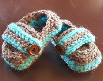 Baby boy shoes booties crib shoes photo prop