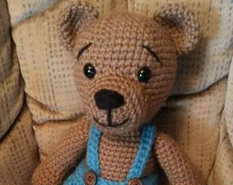 Teddy bear kids baby toy amigurumi stuffed animal