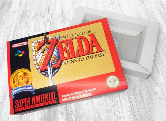 Zelda A Link to the Past FAH Boîte SNES