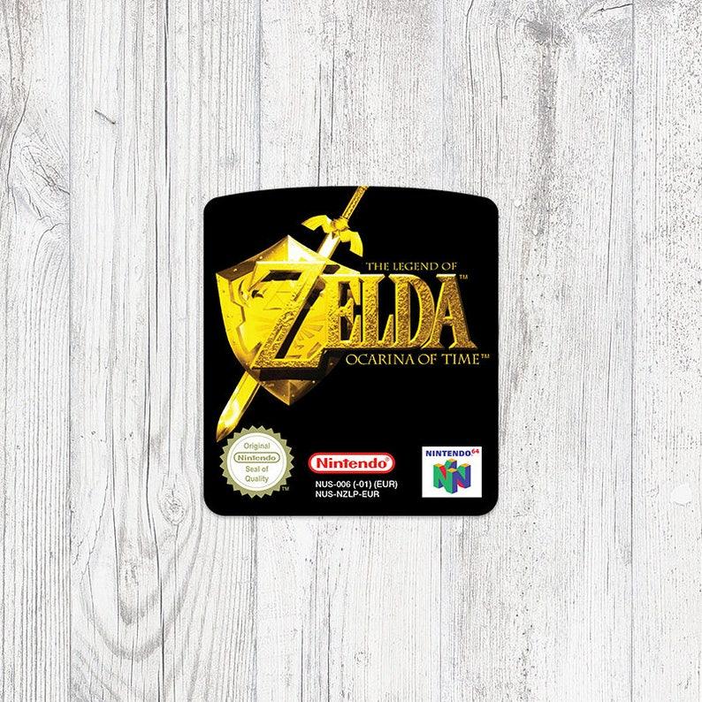 N64 Sticker: Zelda - Ocarina of Time