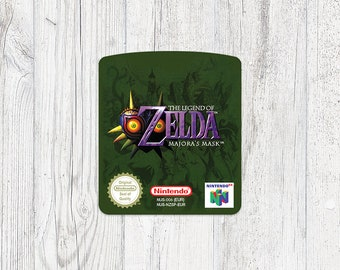 N64 Sticker: Zelda - Majora's Mask
