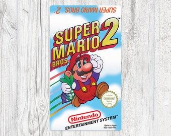 NES Sticker: Super Mario Bros. 2