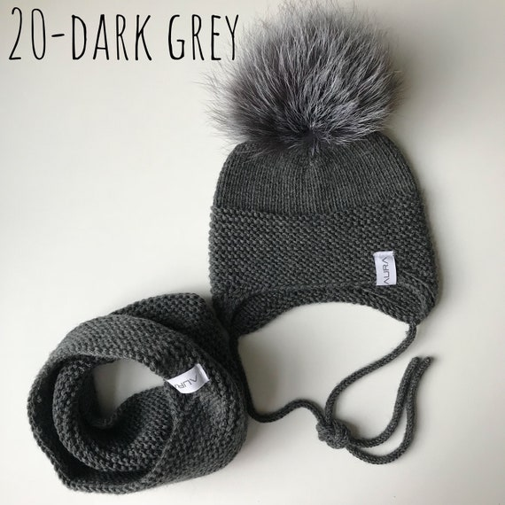 949c7022611 Knitted handmade hats   scarfs for kids