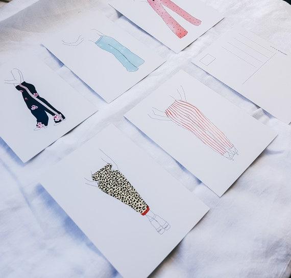 Mode Portret Cadeau Fashionista Cadeau Tiener Mode Print Mode Poster Sinterklaas Mode Illustratie Inrichting Housewarming Cadeau