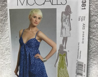 42624dc12821 Mccalls M5381 Misses Dress in 3 Lengths Sewing Pattern