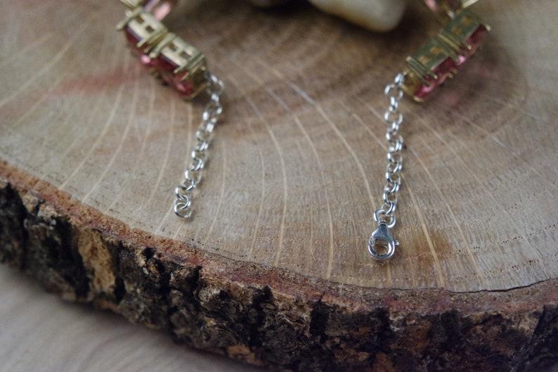 925K Silver Bracelet Turkish Alexandrite Bracelet /%100 Colour Change
