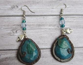 Enchanted forest earrings