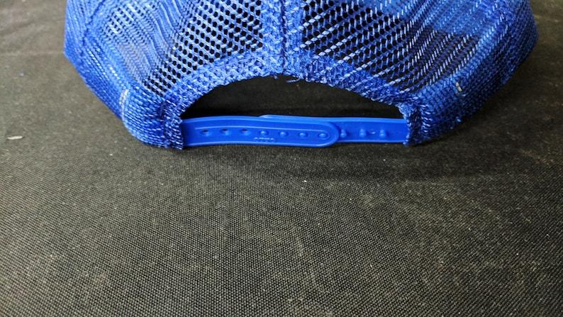 908bf57dbc5bd Red White   Blue Mesh Snapback Hat Tik Tok Ink Vintage