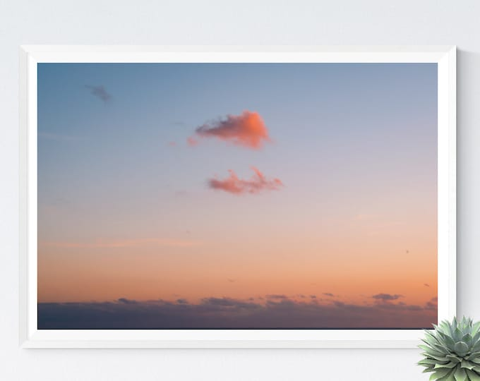 Private Show, Cloud Photography, Sunset Photography, Large Art Prints, Large Art Photography, Large Wall Art, Extra Large Wall Art, Sky