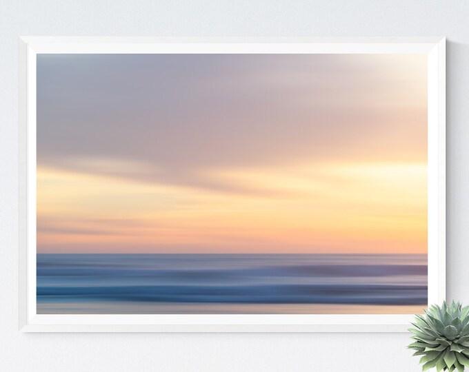 Evening Light, Cloud Photography, Sunset Photography, Large Art Prints, Large Art Photography, Landscape Print, Sky