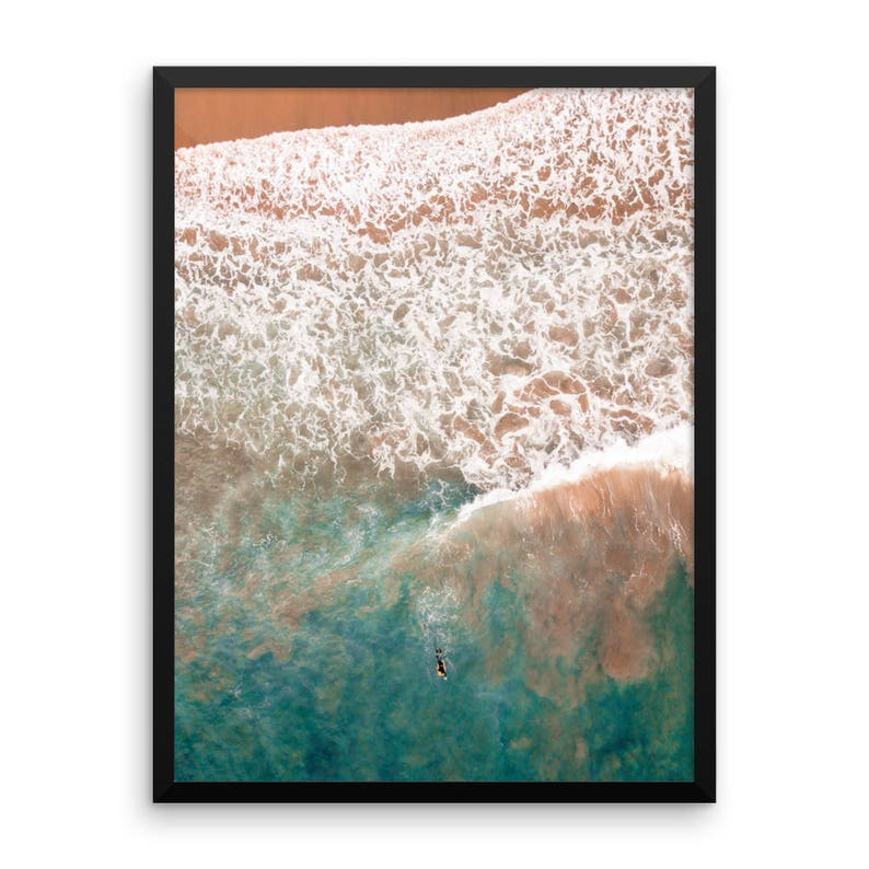Drone Photography Large Wall Art Boogie Boarder Extra Large Wall Art Large Art Prints Surf Aerial Photography Large Art Photography