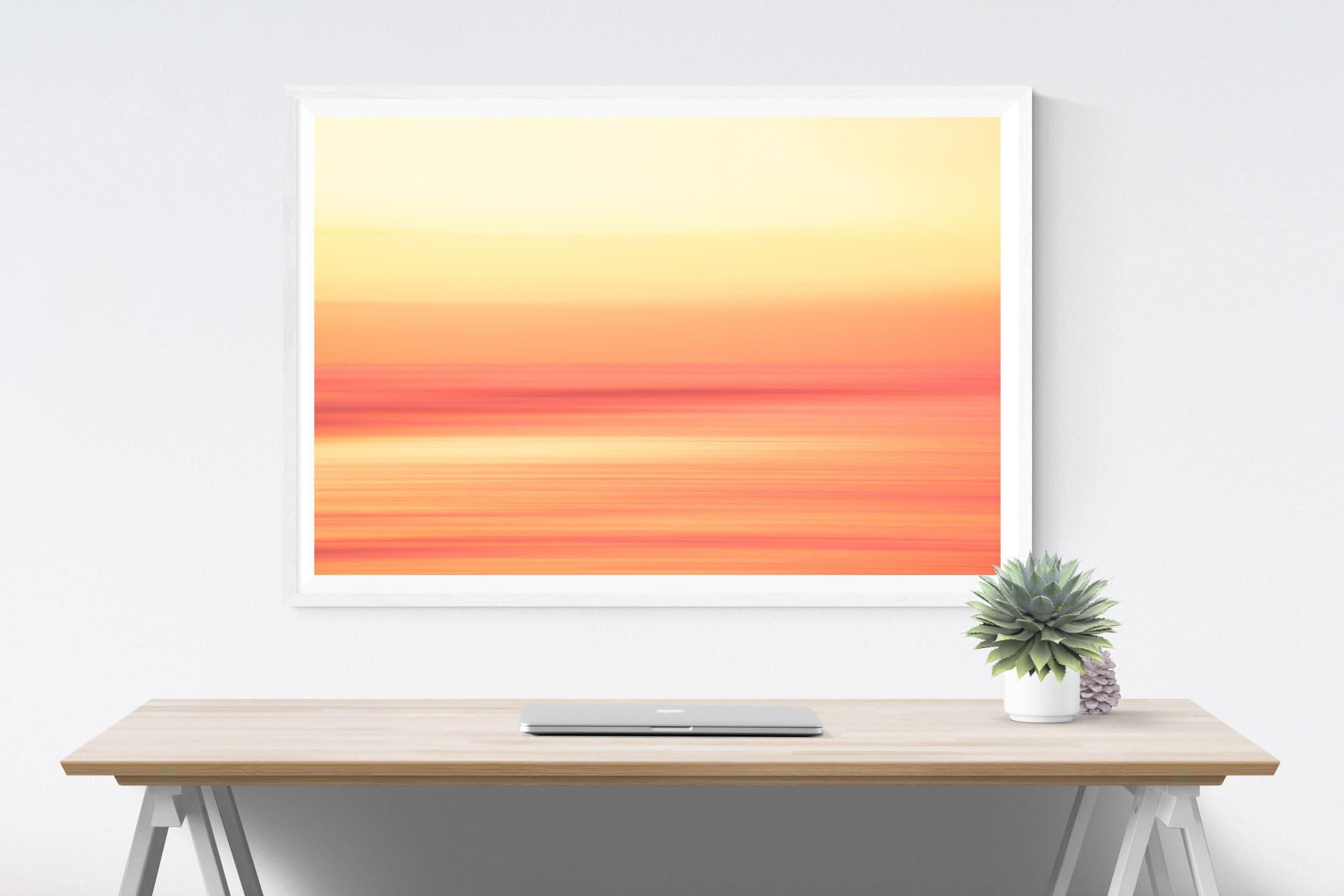 Stunning Fijian Sunset Art Print Home Decor Wall Art Poster C
