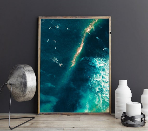 Drone Photography Surf Aerial Photography Frothy Extra Large Wall Art Large Art Photography Large Wall Art Large Art Prints