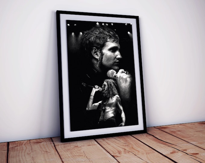 Layne Staley poster XL  - Alice In Chains poster - Layne Staley - Alice in Chains gifts - Wall Art