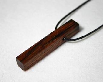 Cocobola Necklace