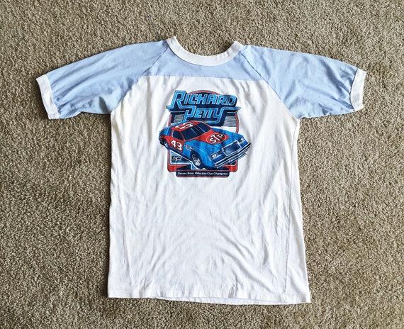 Richard Perry Vintage 1979 Ringer T Shirt Men's Wh