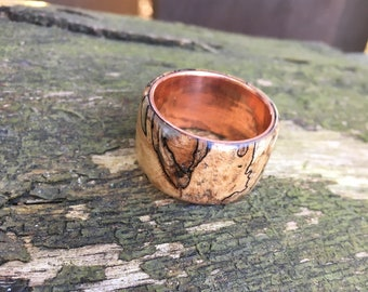 wood ring, wood jewelry, wood wedding bands, natural jewelry