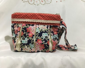 Handmade Japanese Style Red Pouch