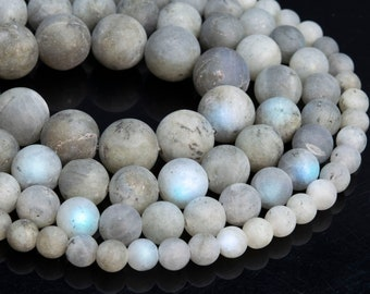 109917 12MM Gray Labradorite Beads Madagascar Grade B Genuine Natural Gemstone Round Loose Beads 15.57.5 Bulk Lot Options