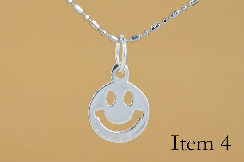 1 Pcs Sterling Silver Charm DIY Jewelry Making