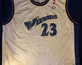 256a14e86c6 Vtg champion michael jordan wizards jersey
