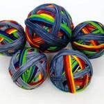 PreOrder - BLUE REGENBOGEN - Sock yarn - Selfstriping