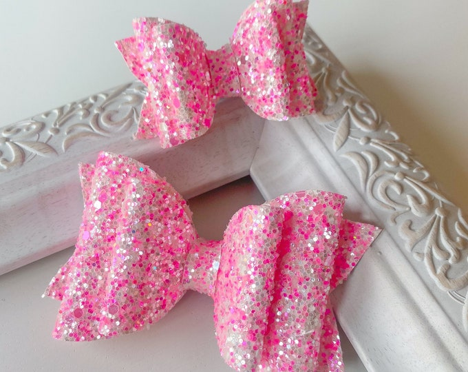 Pink Lust // Spruce Hairbow