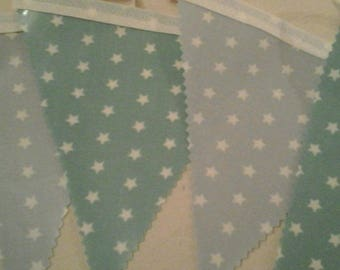 PVC Star Bunting, 12 flags