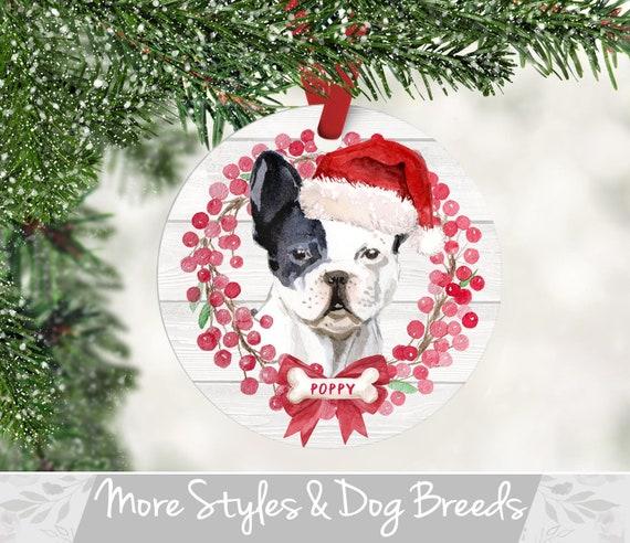 French Bulldog Christmas Ornament.French Bulldog Ornament Personalized Dog Christmas Ornament French Bulldog Christmas Ornament Pet Ornament Personalized Dog Ornament
