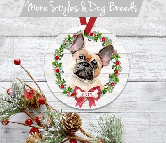 French Bulldog Christmas Ornament.French Bulldog Christmas Ornament Pet Ornament Personalized Dog Ornament French Bulldog Ornament Personalized Dog Christmas Ornament