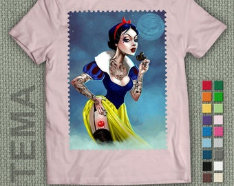 Snow White Urban- Tshirt - Men and Women Shirt