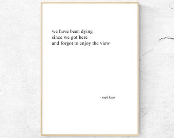 Printable Poetry Etsy