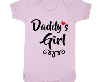 Daddy/'s Little Barbe Extracteur Baby Grow-Mignon Bébés Body Vêtements