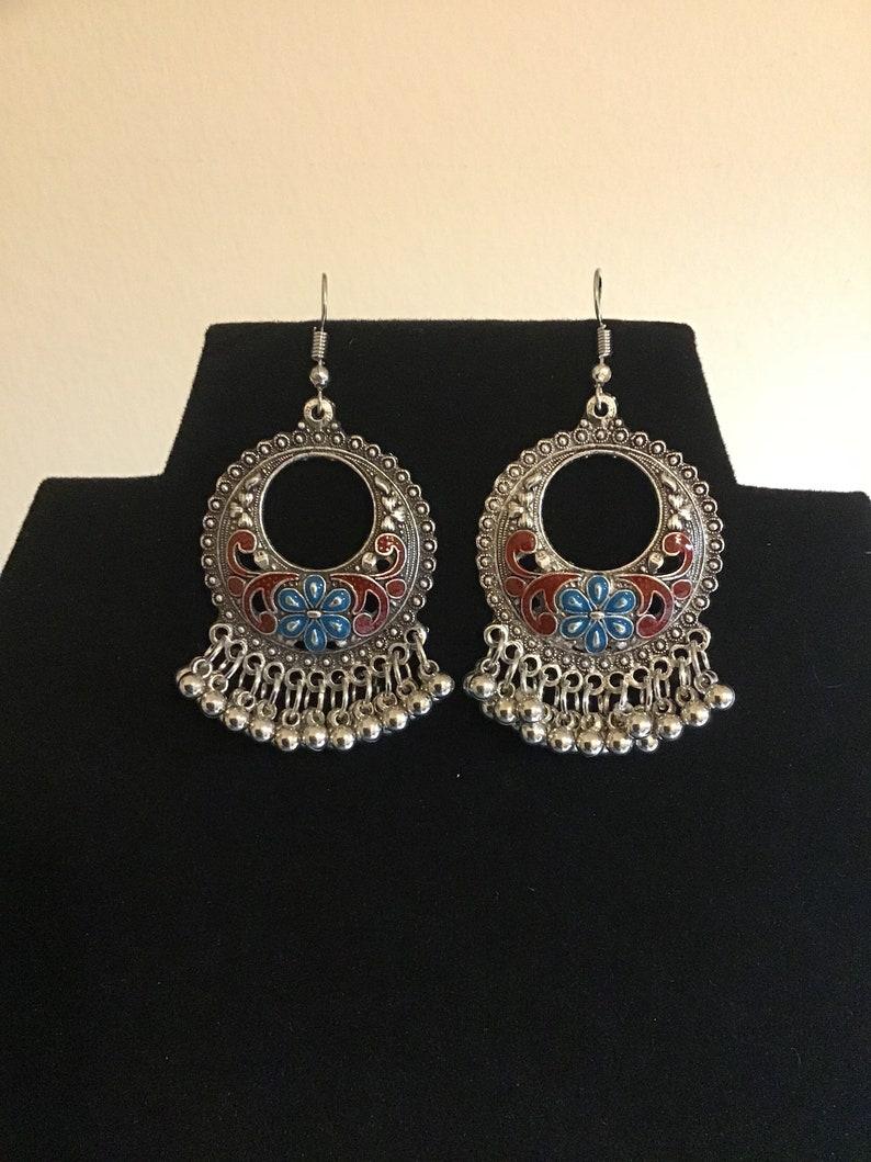 Round Bohemian Earrings