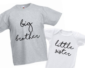 Security Little Sis T-Shirt Gifts for new big brothers gift ideas from sibling
