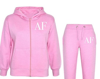 719406e86f49 Personalised Kids Initial Tracksuit, Girls Boys initial tracksuit, Kids  personalised clothing, Toddler initial tracksuit, baby initial