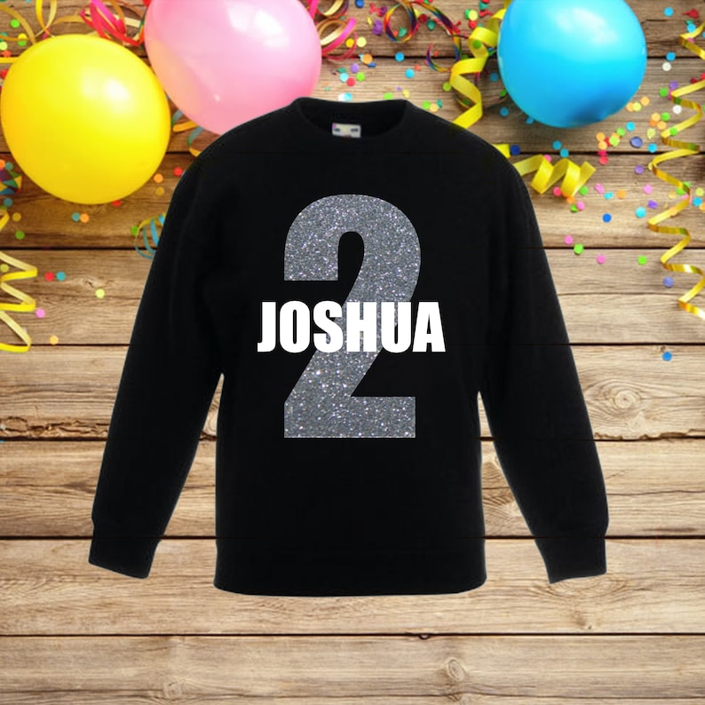 birthday top boys personalised birthday sweatshirt 2nd birthday birthday outfit boy birthday jumper personalized boys birthday outfit