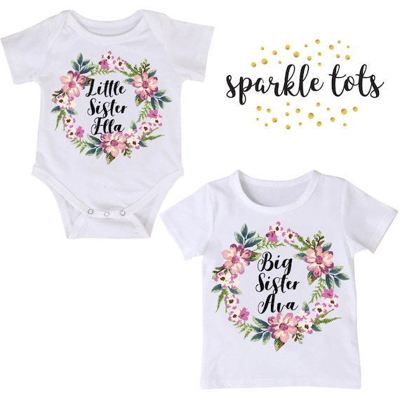 Big Sister Little Sister Matching Sister Outfits Big Sister Etsy