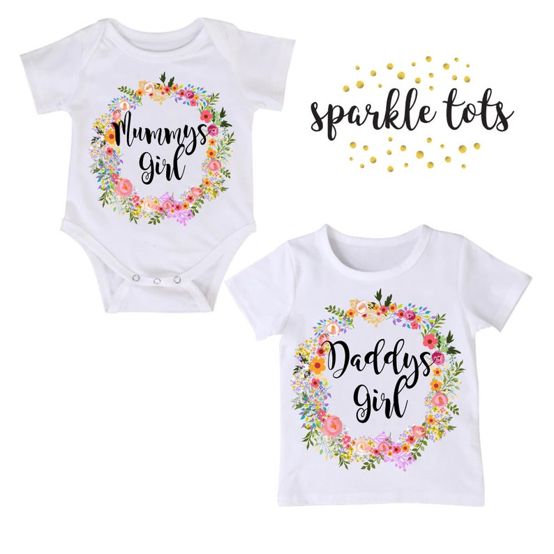 d7fd13f3df52 Mum gifts dad gifts Mummys Girl Daddys Girl Big Sister