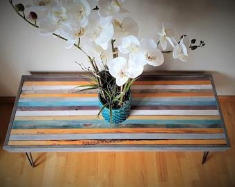 Striped Coast Barnwood Coffee Table