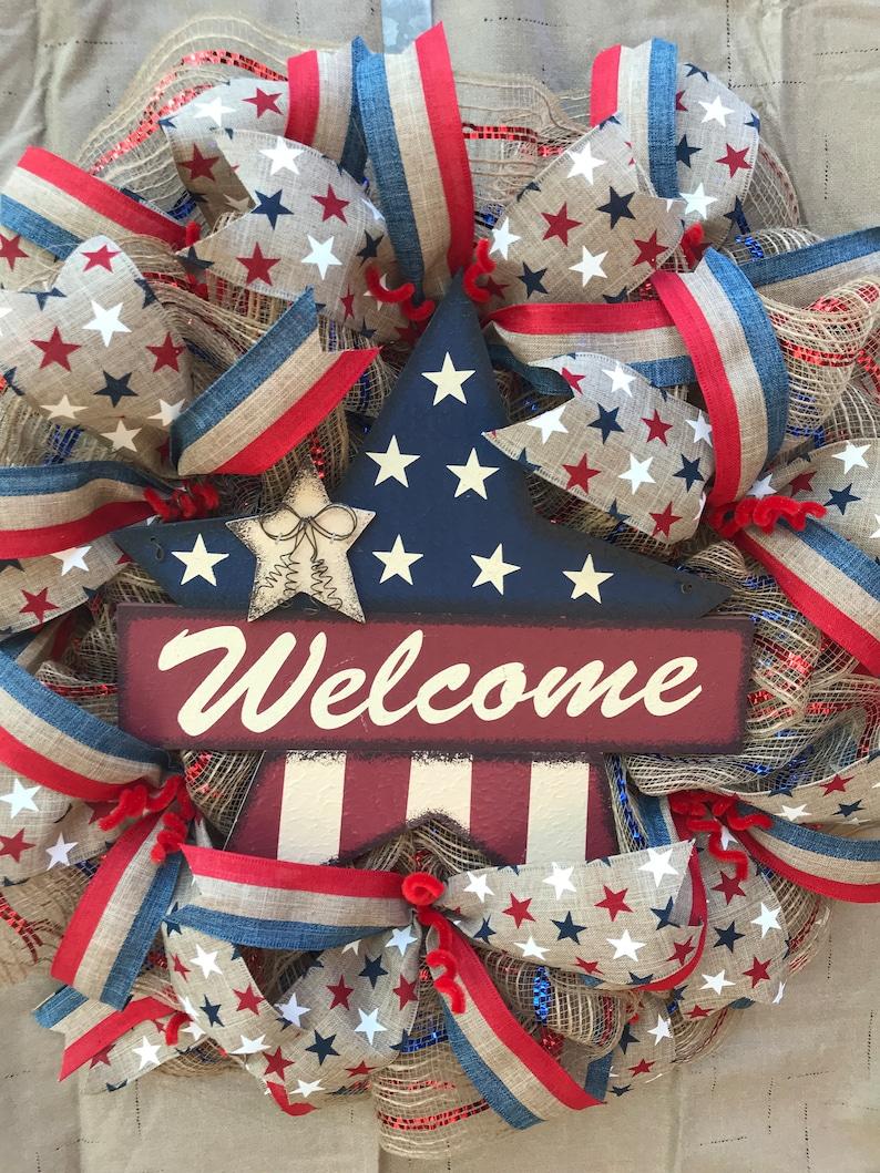 Patriotic Welcome