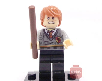 RON WEASLEY Harry Potter Inspired Blocks Compatible Custom Minifig Movie  Uk Seller
