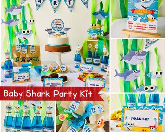 Baby Shark Party Etsy