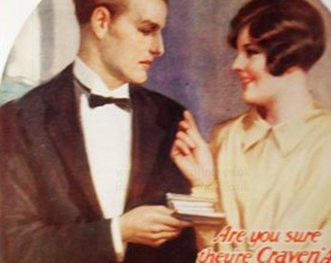 Vintage advert for Craven 'A' cigarettes