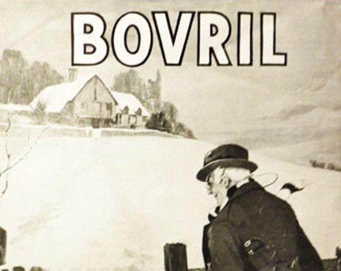 Vintage advertising print: Bovril, 1920