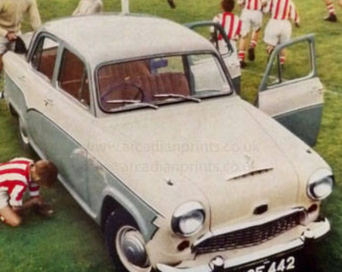 Austin A55 car advertisement