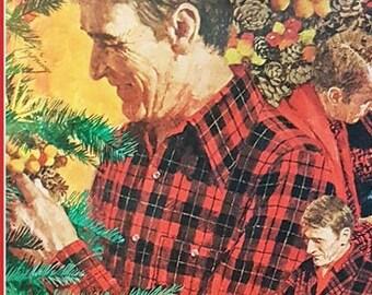 Vintage fashion advert for Pendleton USA woolen mills