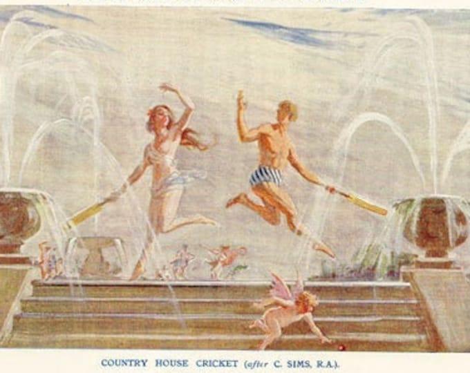 Vintage Punch cartoon, illustrated by Frank Reynolds